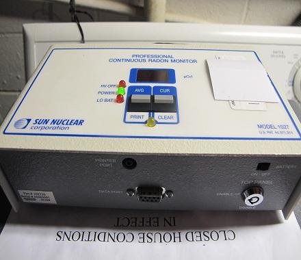 A Continuous Radon Monitoring Device