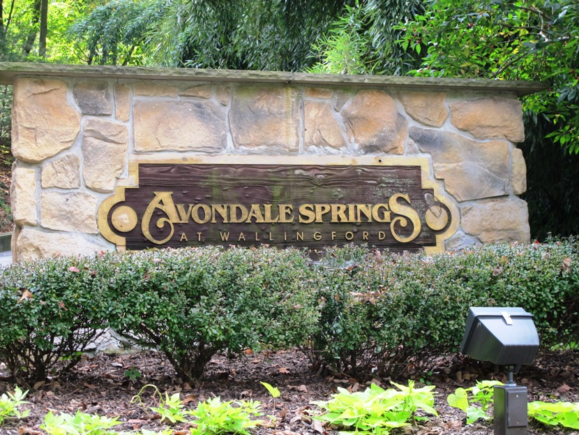 Avondale Springs Community Entrance At Avondale Road