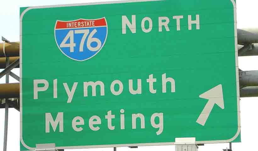 Wallingford-Transportation- Interstate Sign