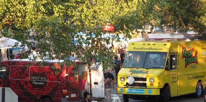 Food Truckathon Returned To Swarthmore In September