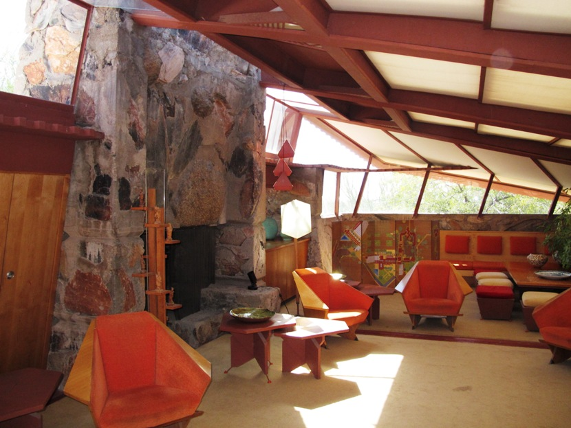 Living Room At Taliesin West