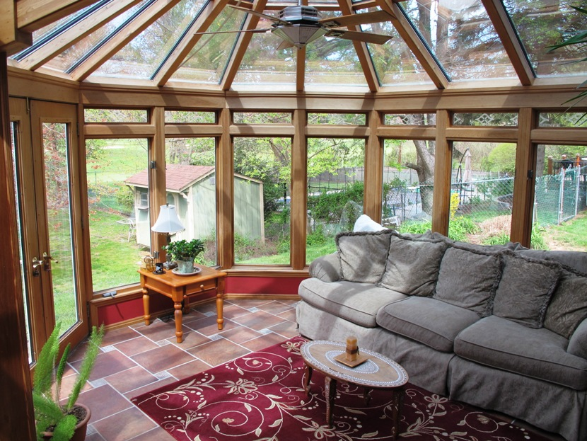 Light Filled Sunroom