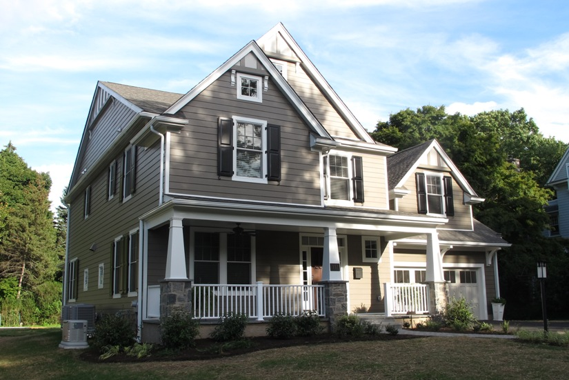 Completed New Home At 117 S Princeton Avenue