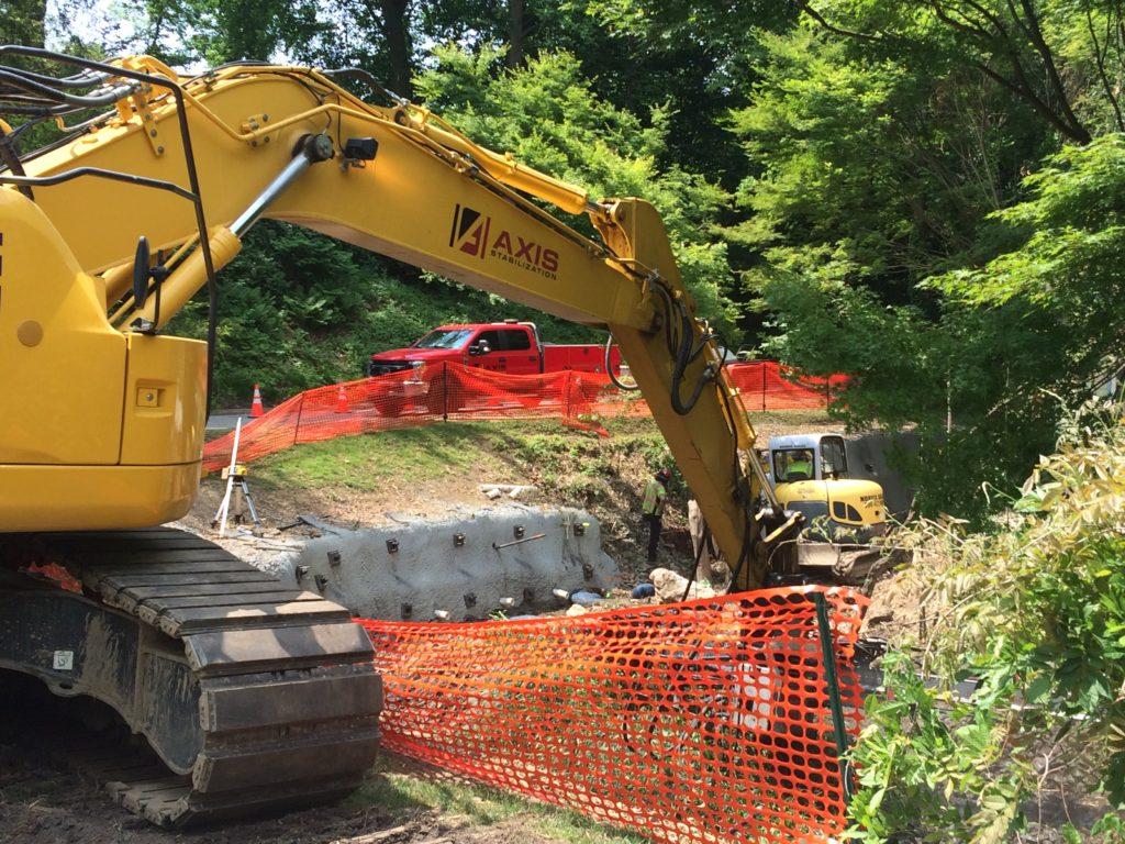 Erosion Control Project On Niblick Lane - Wallingford, PA